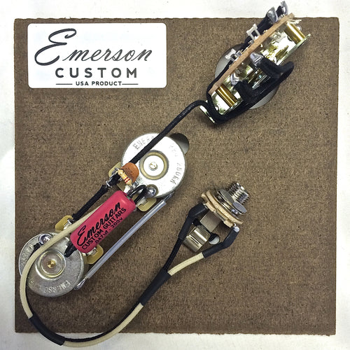 Emerson T3-Thinline Telecaster 250k 3-Way Prewired Kit