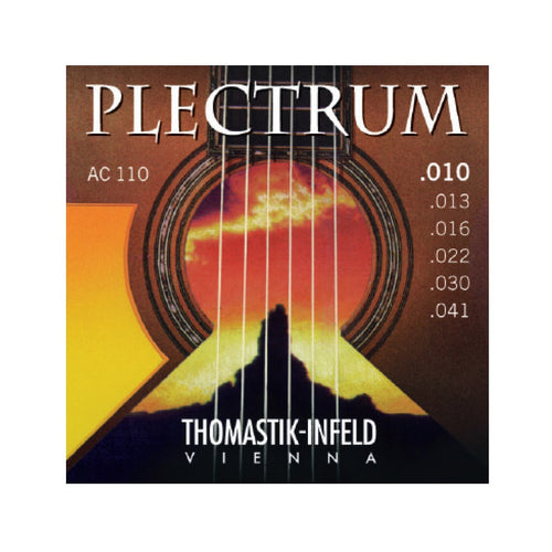 Thomastik AC110 Plectrum Acoustic Guitar Strings 10-41