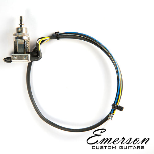 Emerson 3-Way Switchcraft Prewired short straight toggle Switch