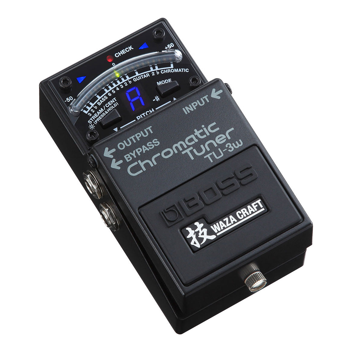 Boss TU3W Chromatic Tuner Waza Craft