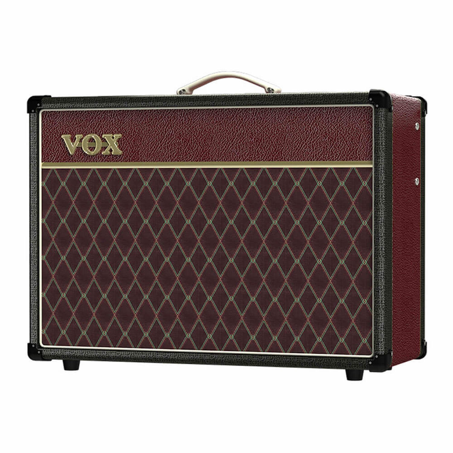 Vox AC15C1-TTBM Two Tone Black and Maroon Guitar Amplifier