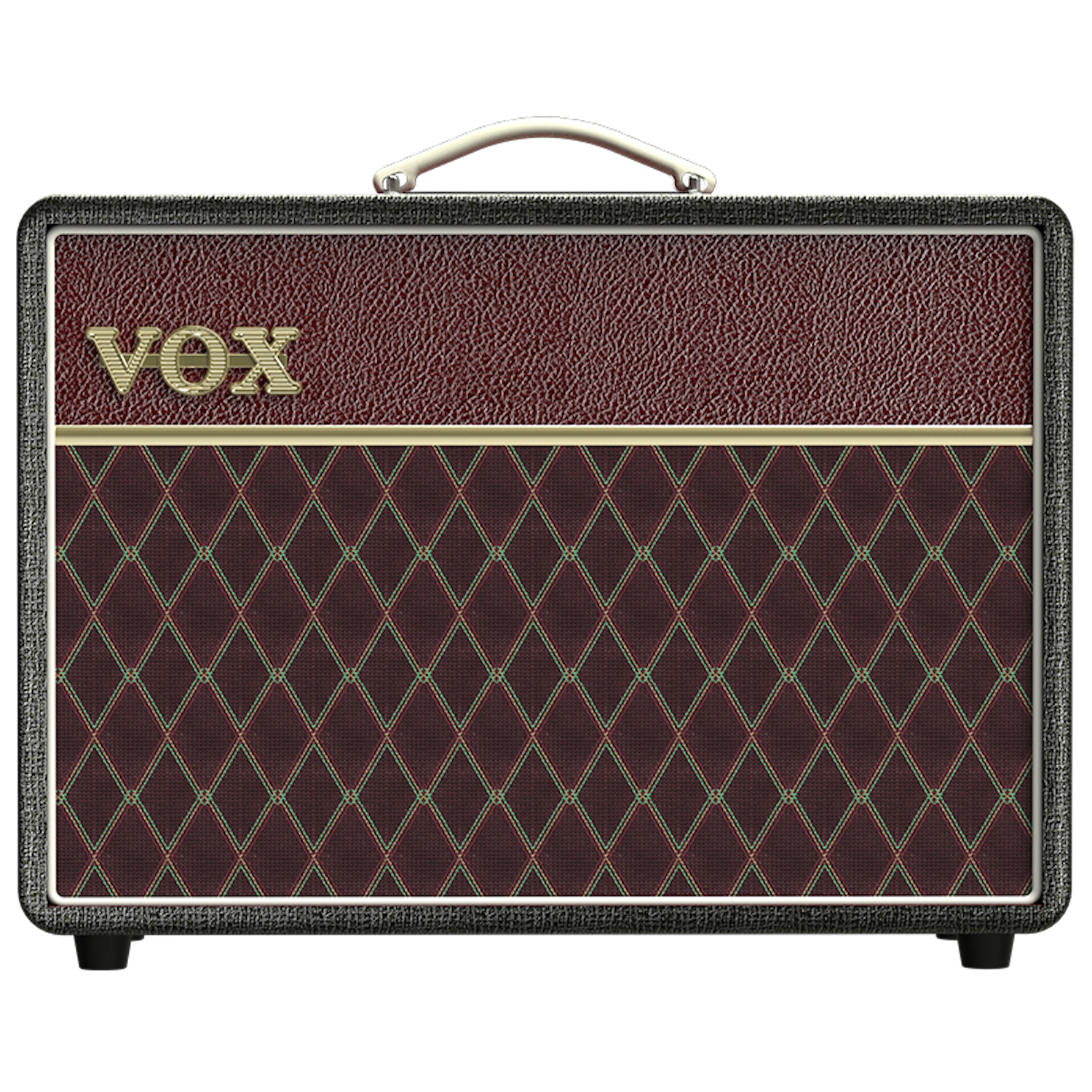 Vox AC10C1-TTBM Two Tone Black and Maroon Guitar Amplifier