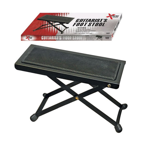 Xtreme T411 Foot Stool Black