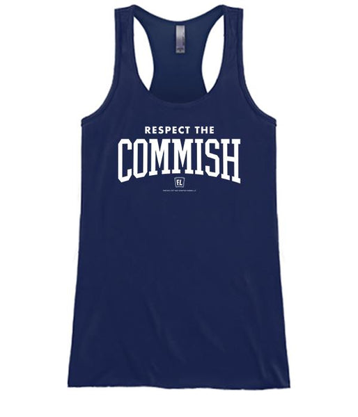 Respect The Commish Apparel