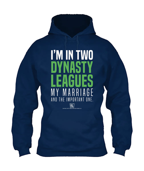 I'm In Two Dynasty Leagues