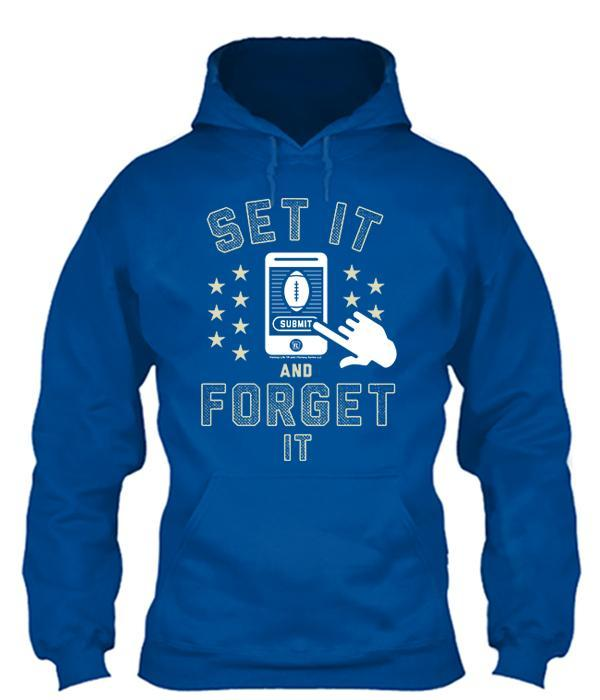 Set It and Forget It Apparel