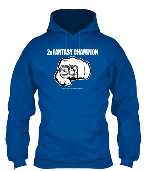 2-Time Fantasy Champ Apparel