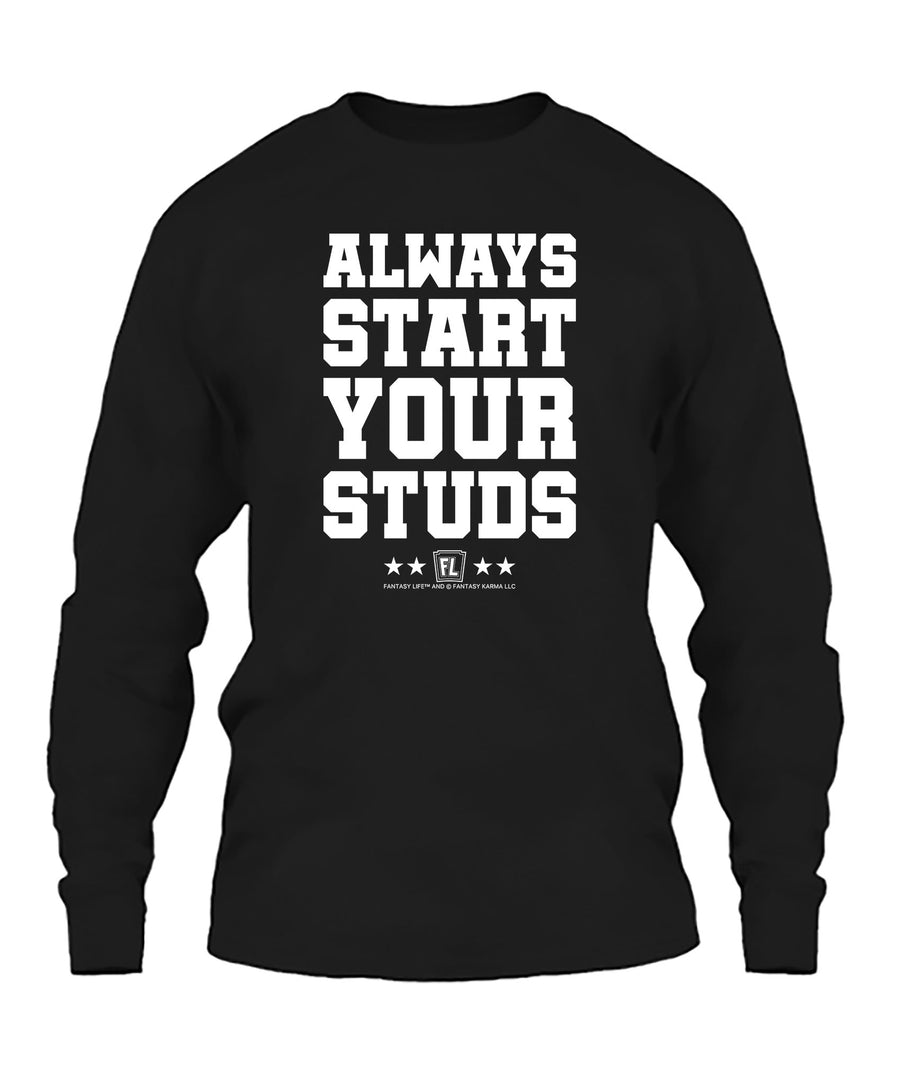 Always Start Your Studs 06010 Apparel