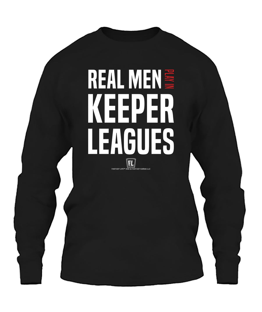 Real Men Play In Keeper Leagues