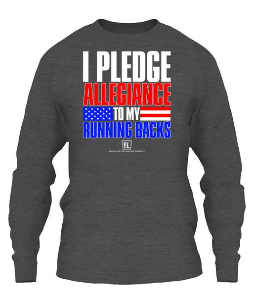 I Pledge Allegiance To My RBs Apparel
