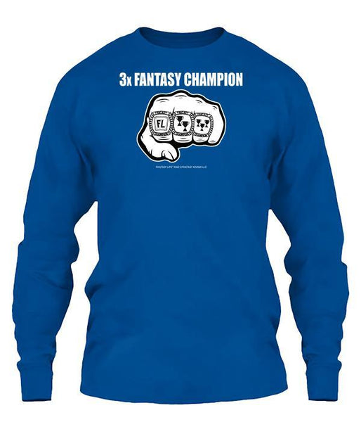 3-Time Fantasy Champ Apparel