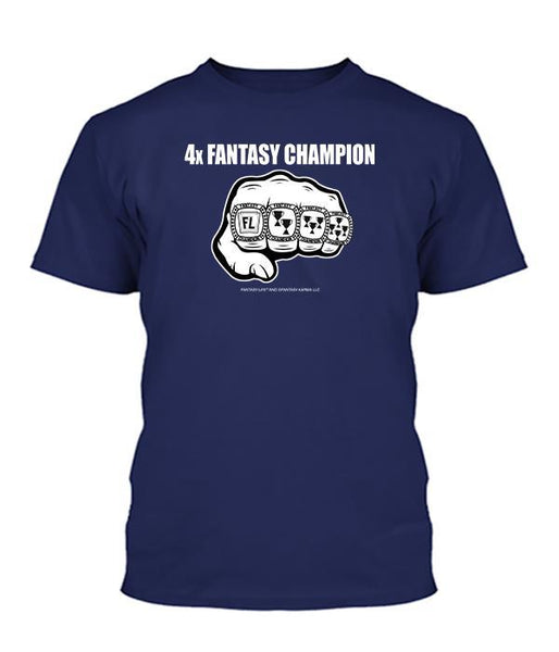 4-Time Fantasy Champ Apparel