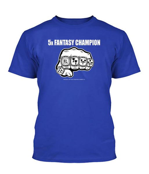 5-Time Fantasy Champ Apparel