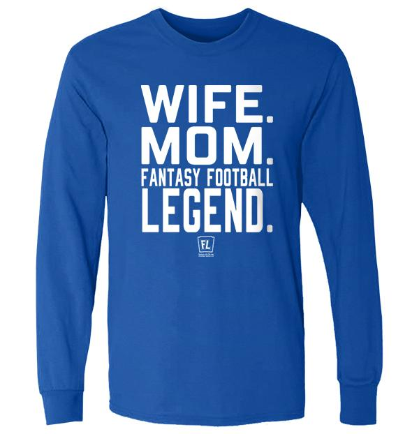 Wife Mom Fantasy Football Legend