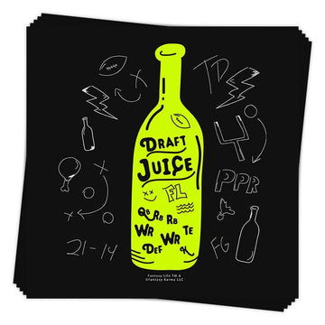 Draft Juice Sticker
