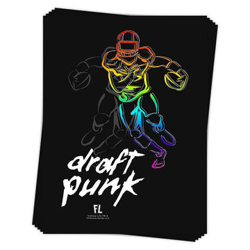Draft Punk Sticker
