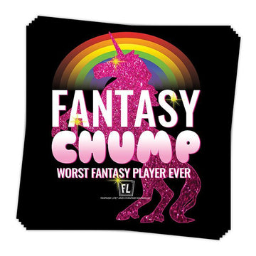 Fantasy Chump Sticker