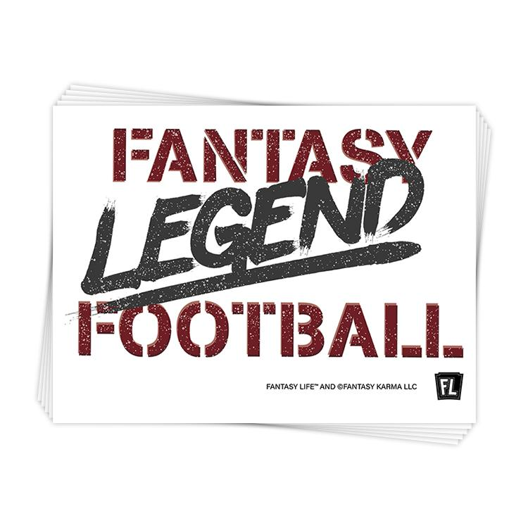 Fantasy Football Legend Sticker