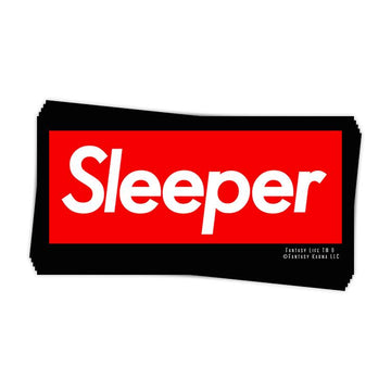 Sleeper Sticker