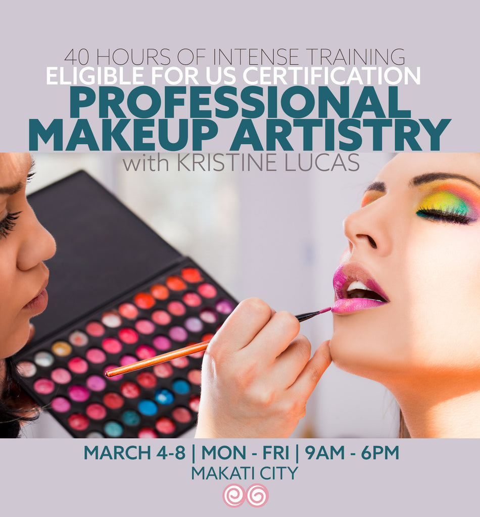 MAR4-8 PROFESSIONAL MAKEUP ARTISTRY COURSE