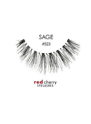 RED CHERRY EYELASHES - STYLE #523 SAGE