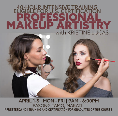 APR 1-5 PROFESSIONAL MAKEUP ARTISTRY COURSE