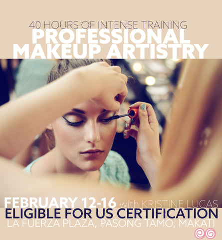 FEB 12-15 PROFESSIONAL MAKEUP ARTISTRY COURSE