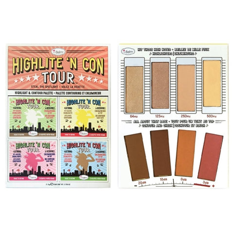 HIGHLITE 'N CON TOUR PALETTE