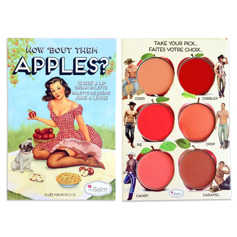 HOW 'BOUT THEM APPLES CHEEK & LIP CREAM PALETTE
