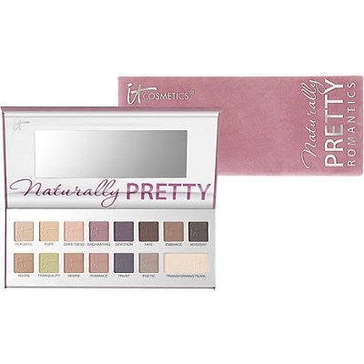 It Cosmetics Naturally Pretty - The Romantics Matte Palette