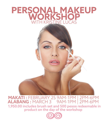 MAR 3 - Personal Makeup Workshop