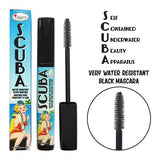 SCUBA WATER RESISTANT BLACK MASCARA