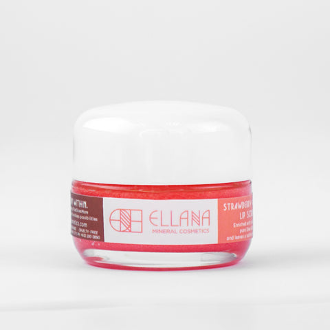 Ellana Lip Scrub - Strawberry Vanilla