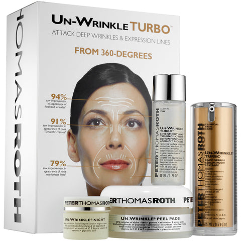 UN-WRINKLE TURBO KIT ($168 VALUE)