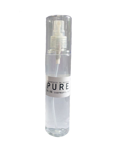 PURE Makeup Sanitizer: 99.9% Alcohol