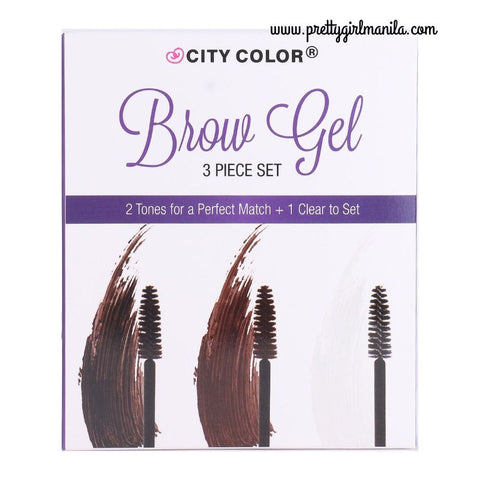 Brow Gel - 3 Piece Set