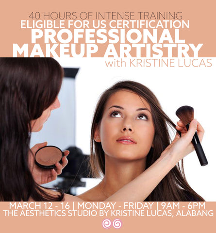 MAR 12-16 PROFESSIONAL MAKEUP ARTISTRY COURSE