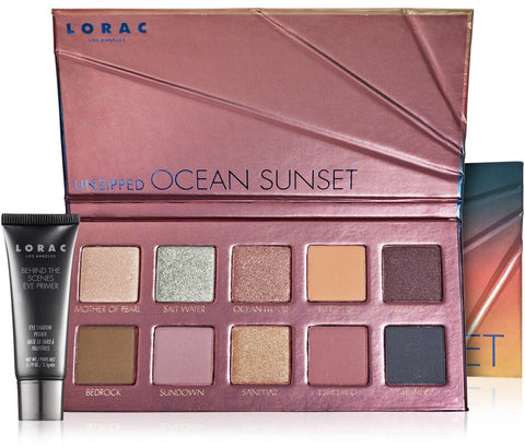[ONHAND] UNZIPPED OCEAN SUNSET EYE SHADOW PALETTE