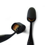 Oval Foundation Brush with Cover