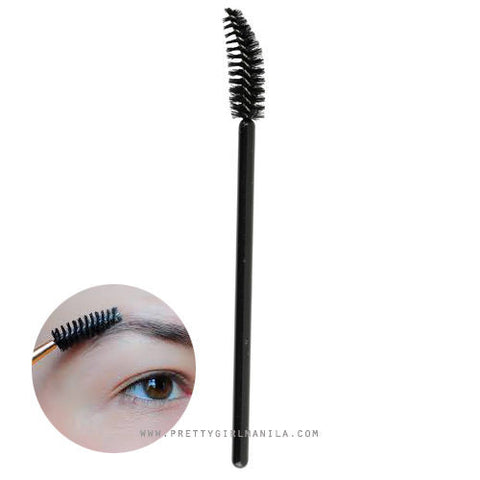 Curved Spoolie Eyebrow Brush
