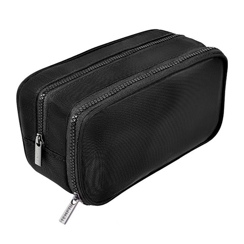 Double Zip Makeup Bag