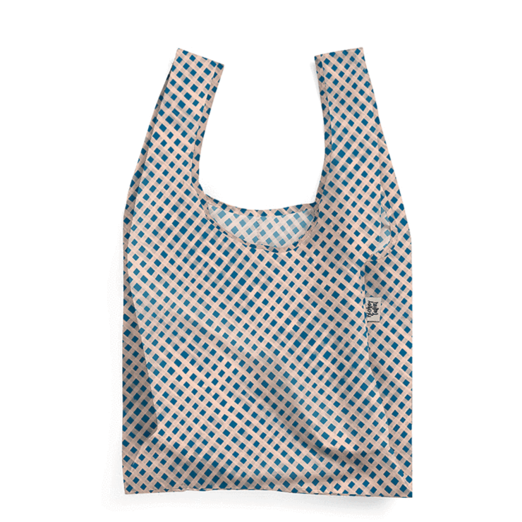 Gingham Paint Reusable Shopping Bag