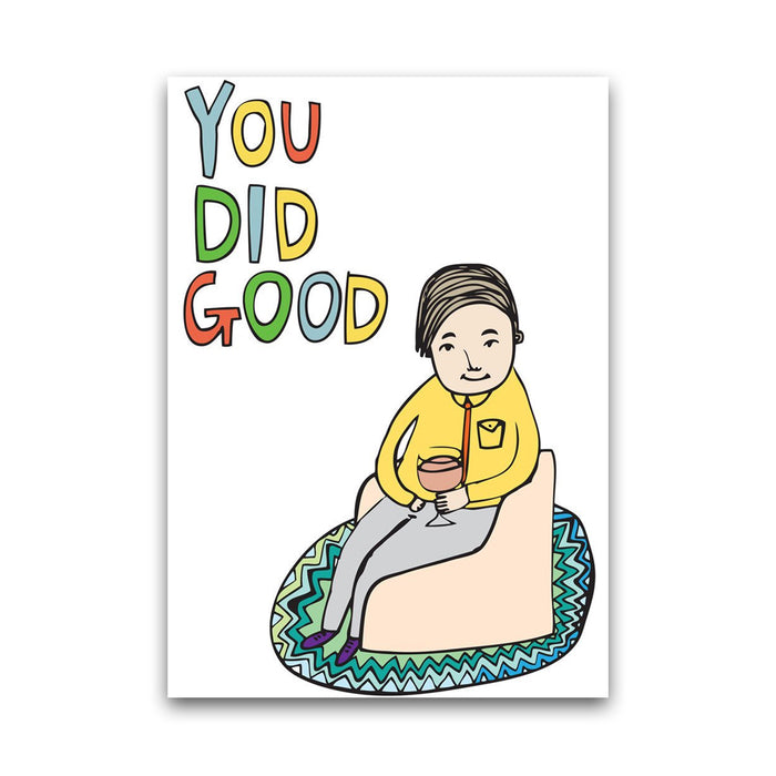 You Did Good - Card