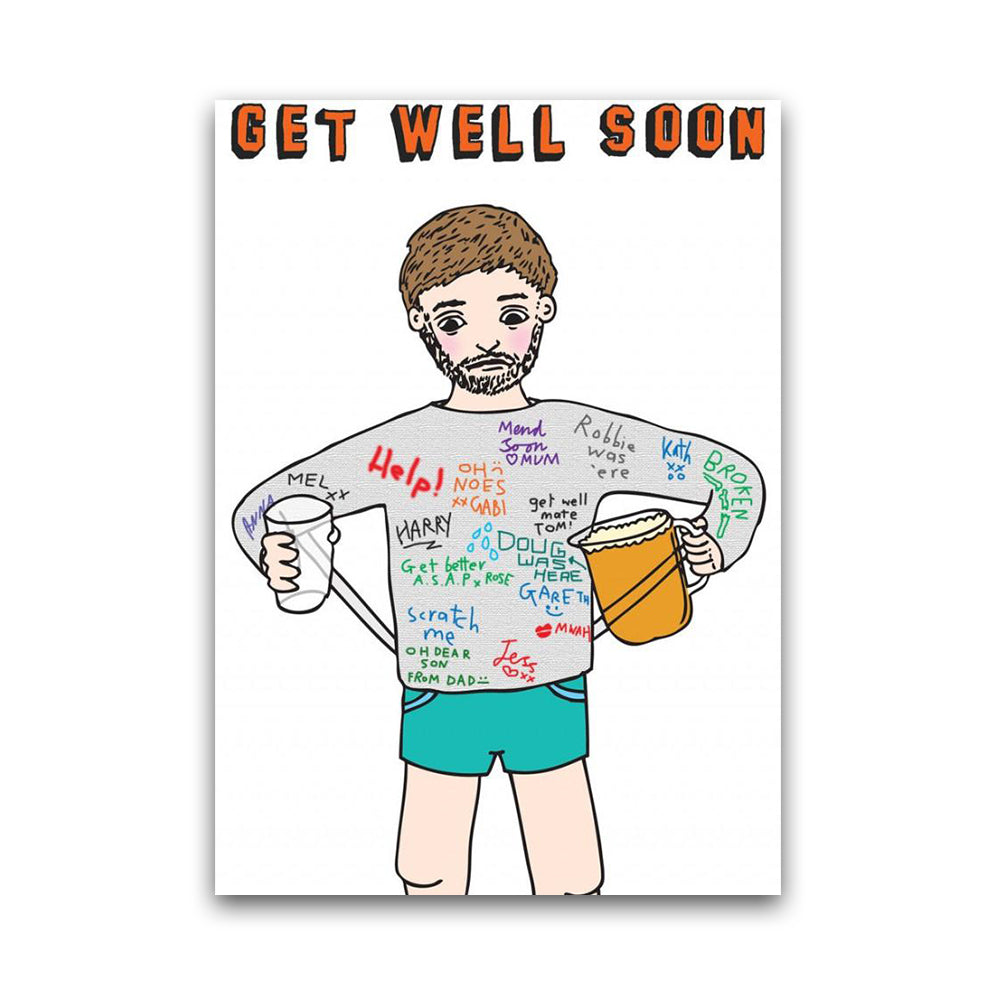 Get Well Soon - Cast - Card