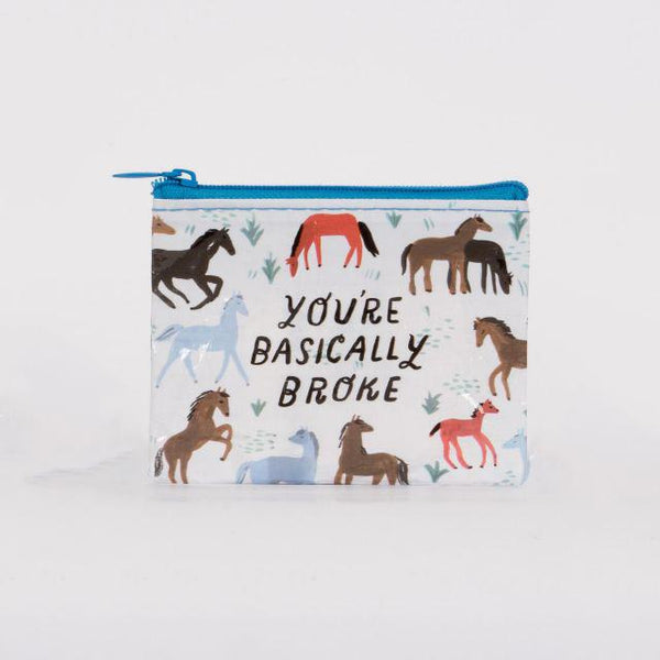 Coin Purse - You're Basically Broke