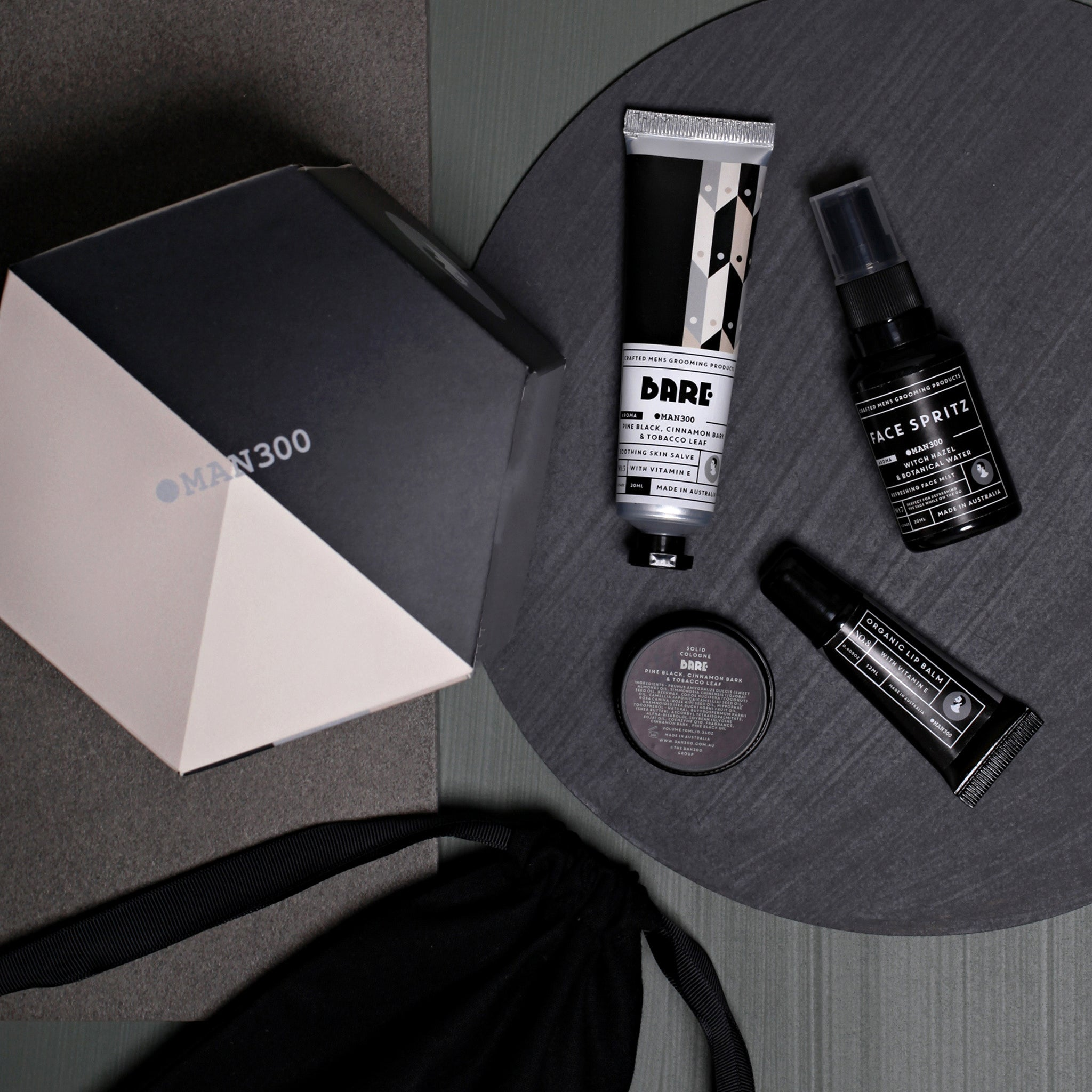 Man300 Jet Set Gift Pack - Bare