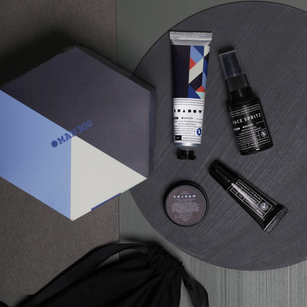 Man300 Jet Set Gift Pack - Shadow