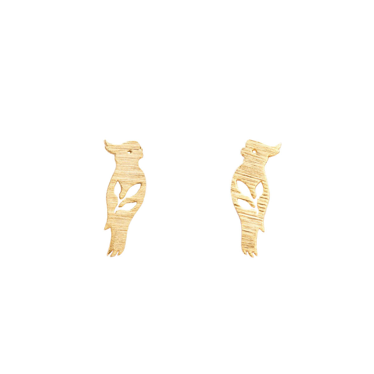 Cockatoo Studs - Gold