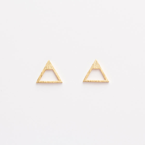 Mountain Studs - Gold
