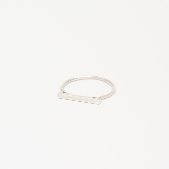 Sterling Silver - Flat Top Ring
